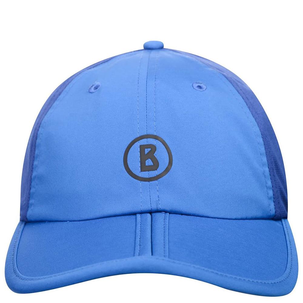 Синяя кепка Bogner с сетчатой вставкой