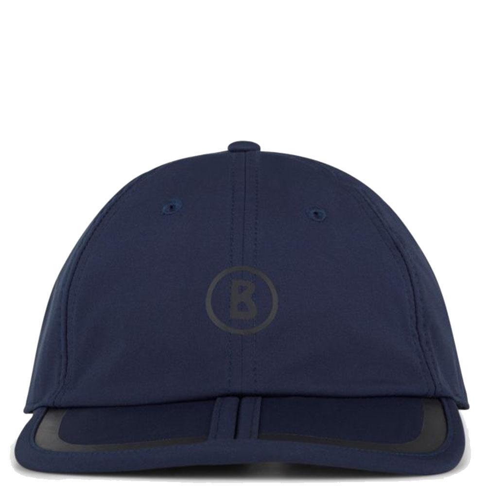Мужская кепка Bogner Lee-2 темно-синего цвета