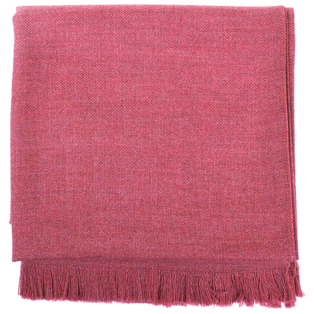 Малиновый шарф Maalbi из натуральной шерсти
