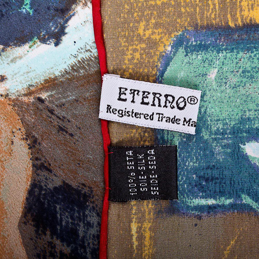 Шелковый платок Eterno с репродукцией Дега Урок танцев