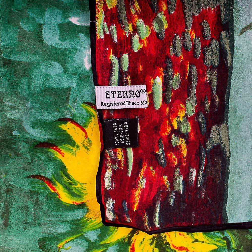Шелковый платок Eterno Ван Гог Подсолнухи
