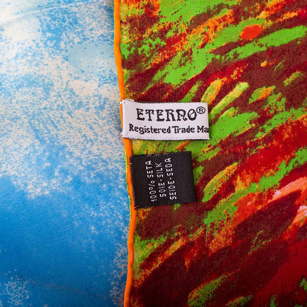 Шелковый платок Eterno Клод Моне Поле тюльпанов и мельница