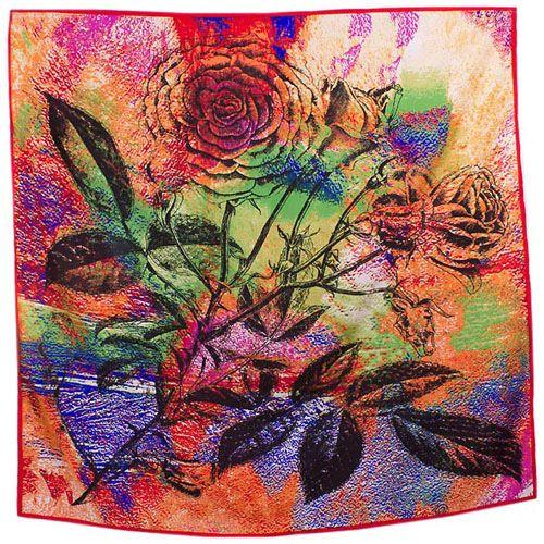 Шелковый платок Eterno Роза