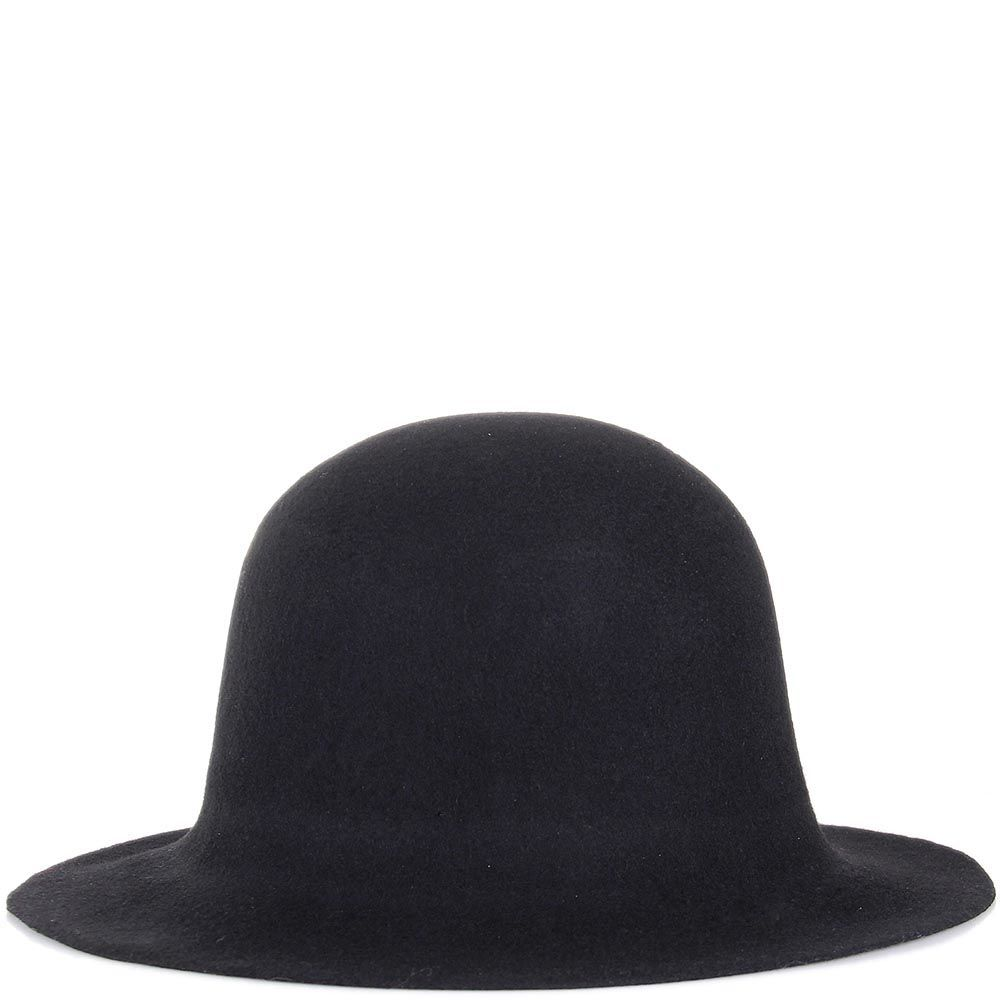 Шляпа флоппи Hat You черного цвета с короткими полями