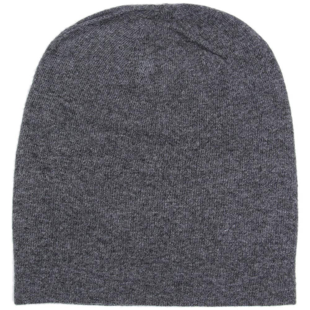 Шапка Hat You Cashmere серого цвета