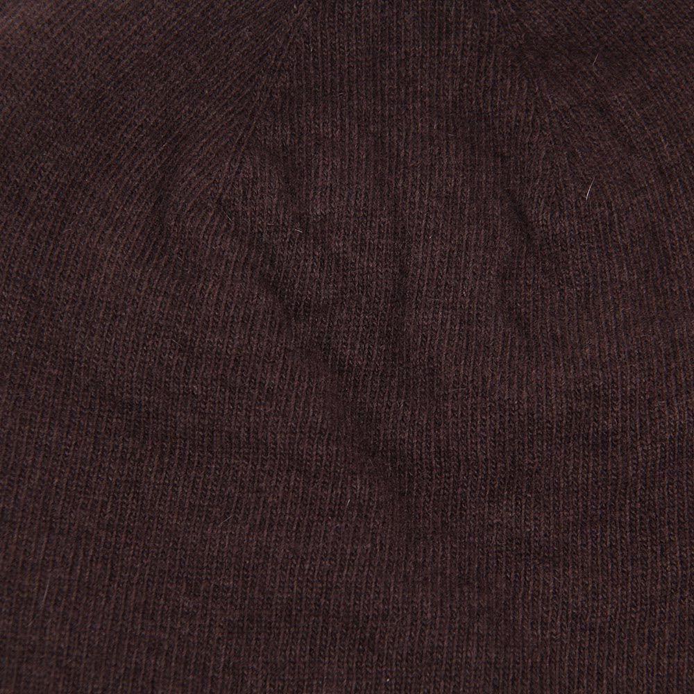 Шапка Hat You Cashmere коричневого цвета