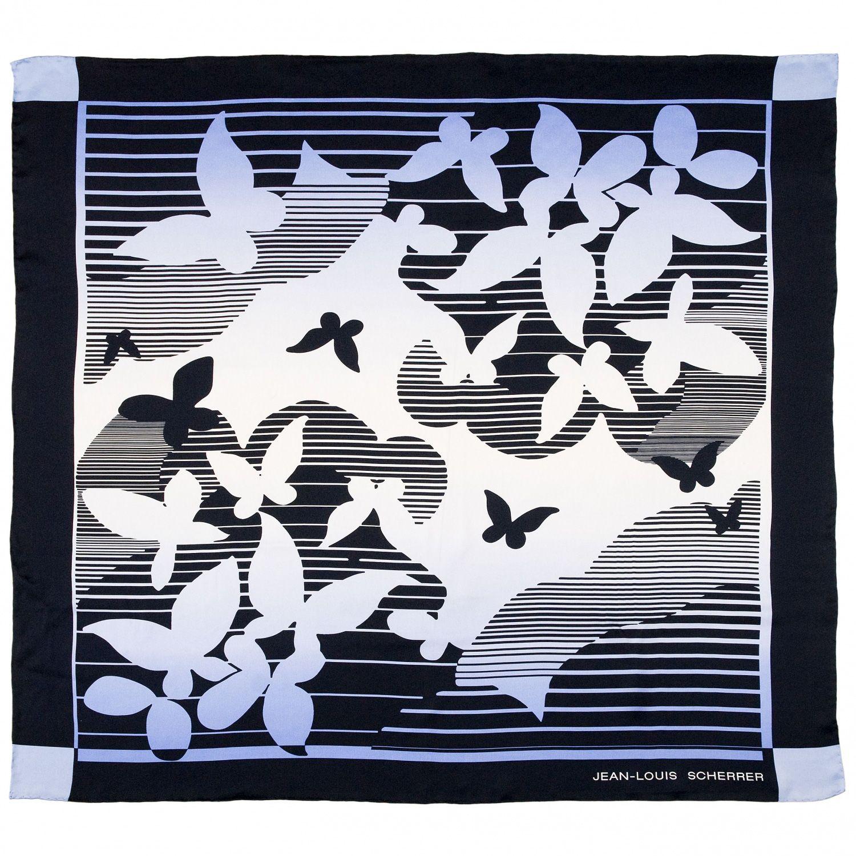 Платок Jean-Louis Scherrer «Papillons»