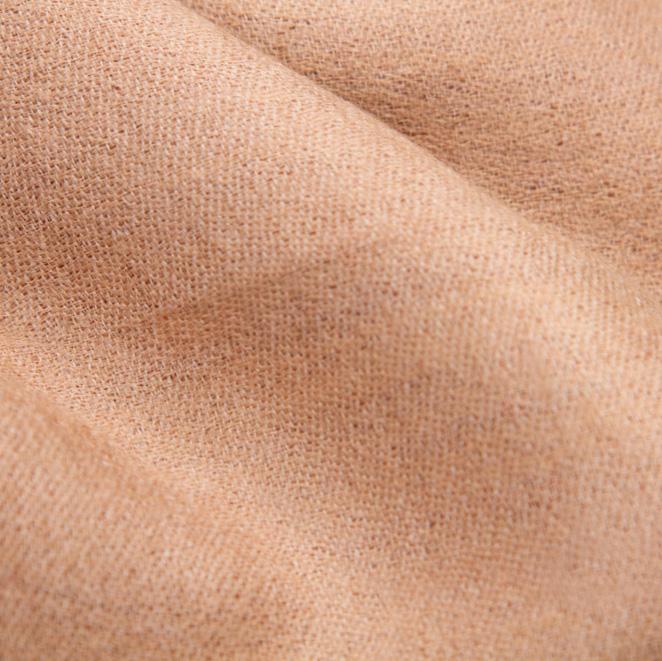 Кашемировый шарф Chadrin двухсторонний коричневый с бежевым