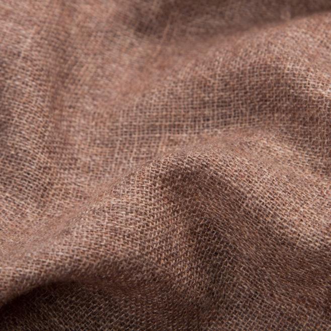 Кашемировый шарф вуальный Chadrin коричневый