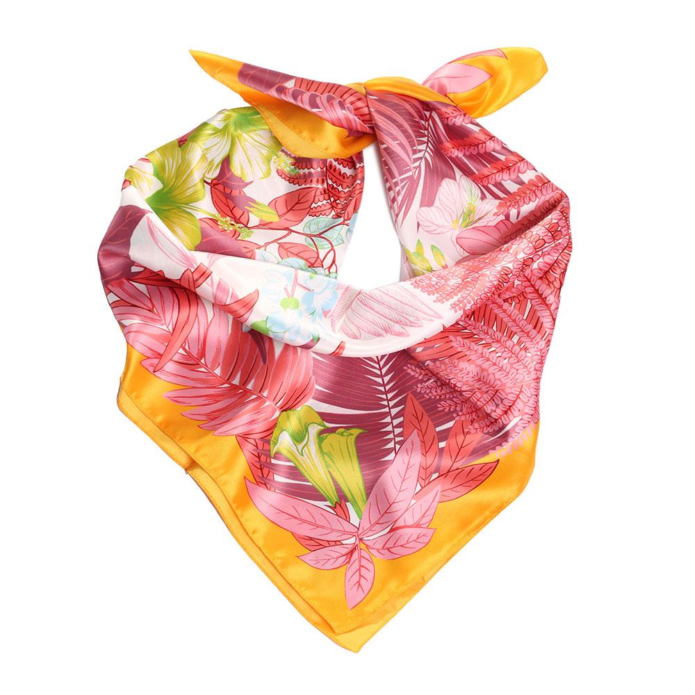 Платок Fattorseta с узором цвета манго