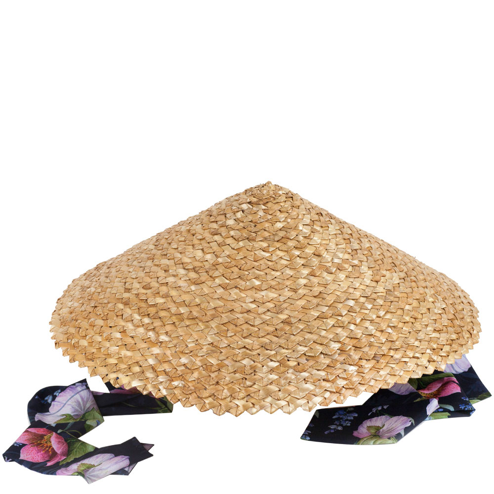 Женская шляпа Shapelie Нон с завязками-лентами