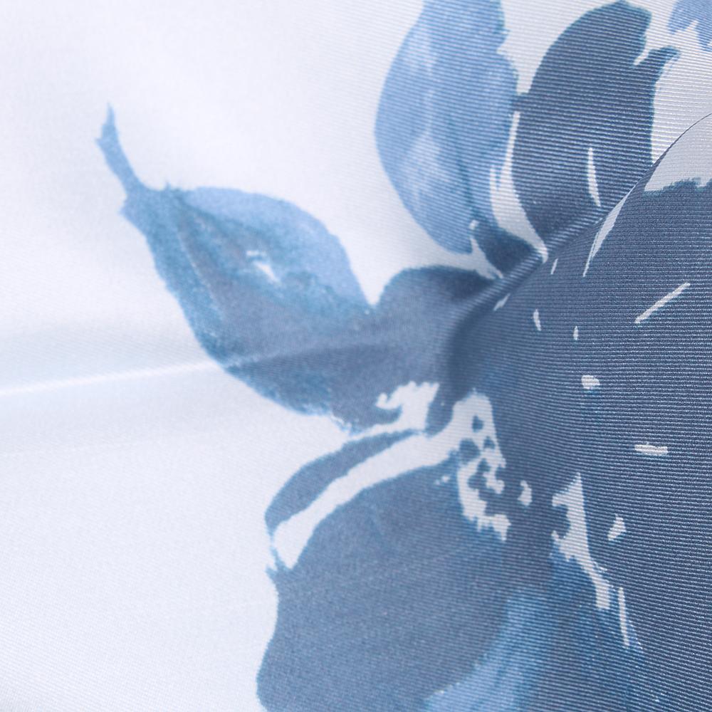 Платок Fattorseta из шелка с цветочным принтом