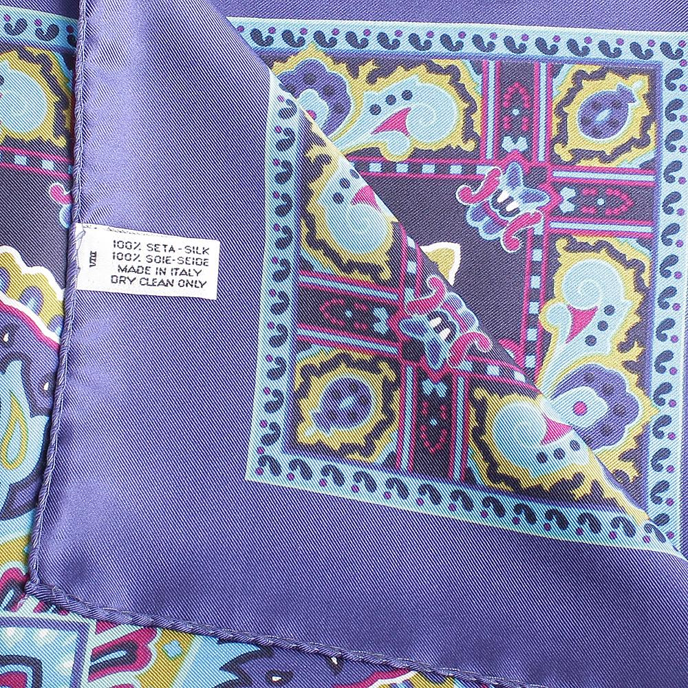 Яркий платок Fattorseta из шелка
