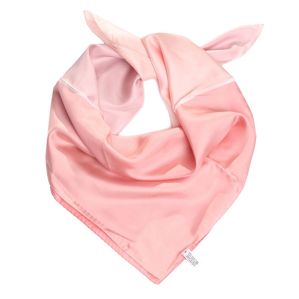 Шелковый платок Fattorseta розового цвета