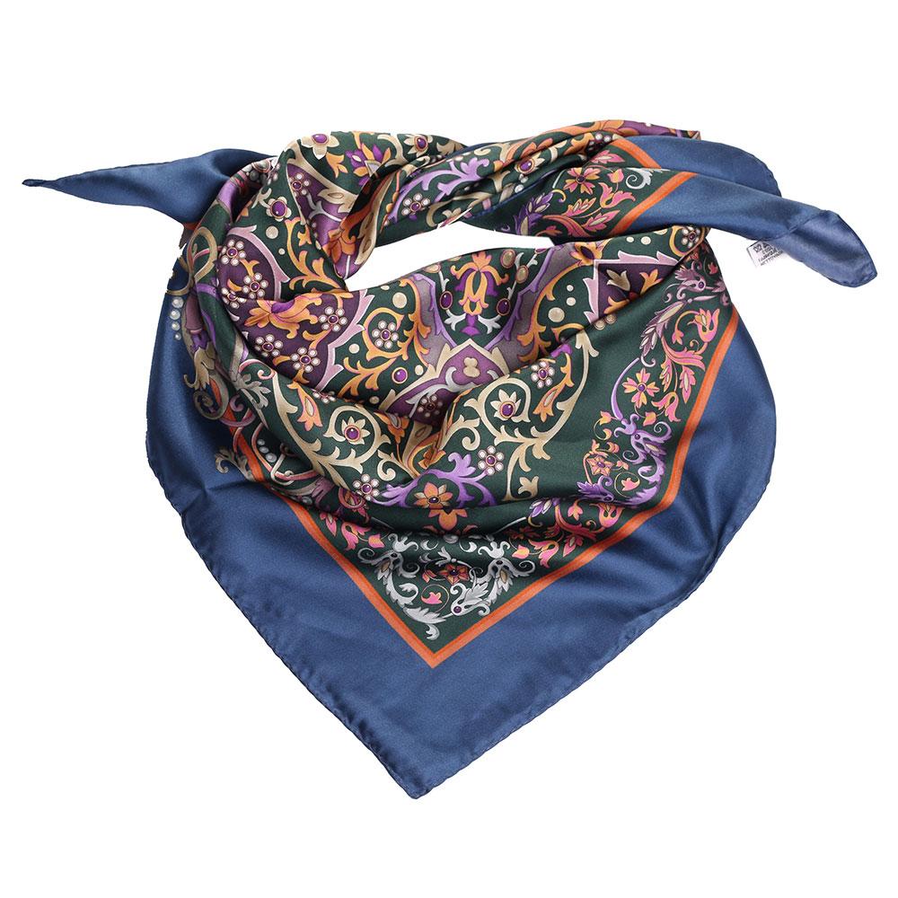 Шелковый платок Fattorseta с цветочным узором