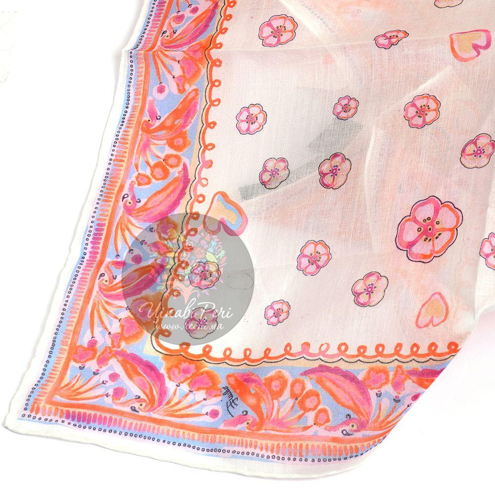 Шейный платок Emilio Pucci нежный персиковый