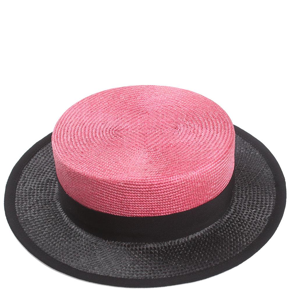 Шляпа из сизаля Shapelie с черным полем