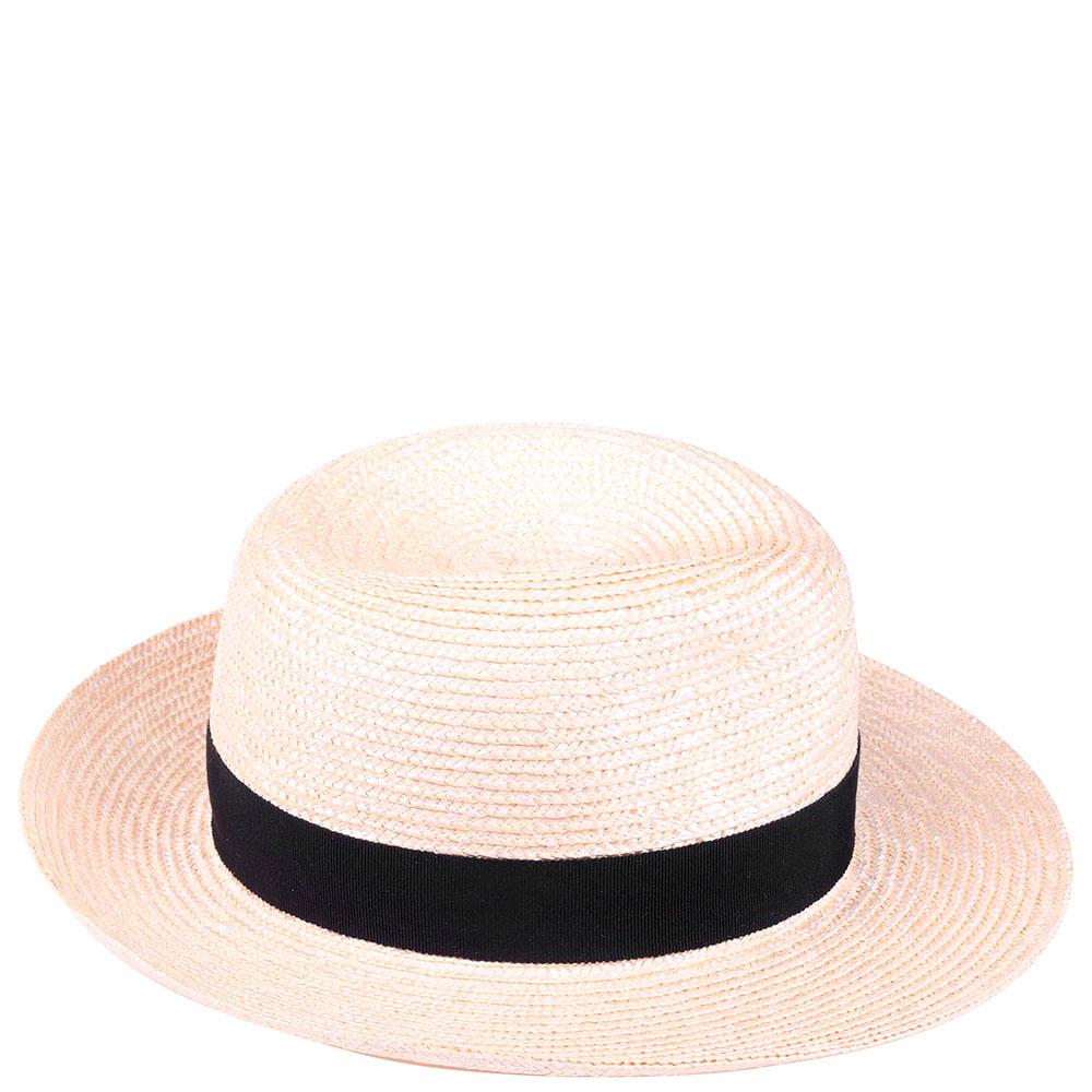 Мужская соломенная шляпа Shapelie Федора