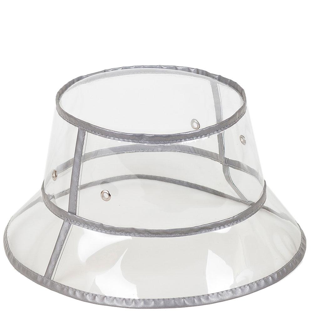 Прозрачная шляпа Shapelie с серой отделкой
