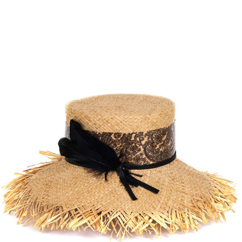 Шляпа Shapelie Рейна с декором черного цвета