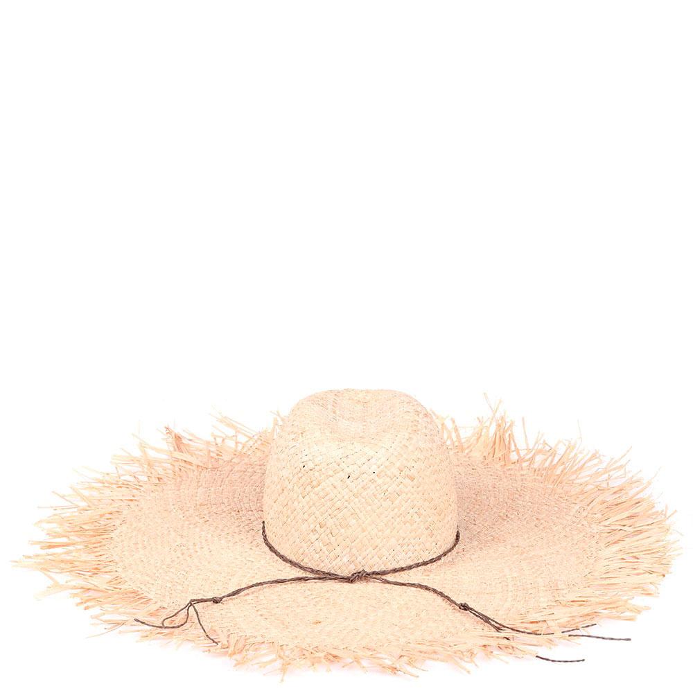 Соломенная шляпа Shapelie Флопи с рваными краями