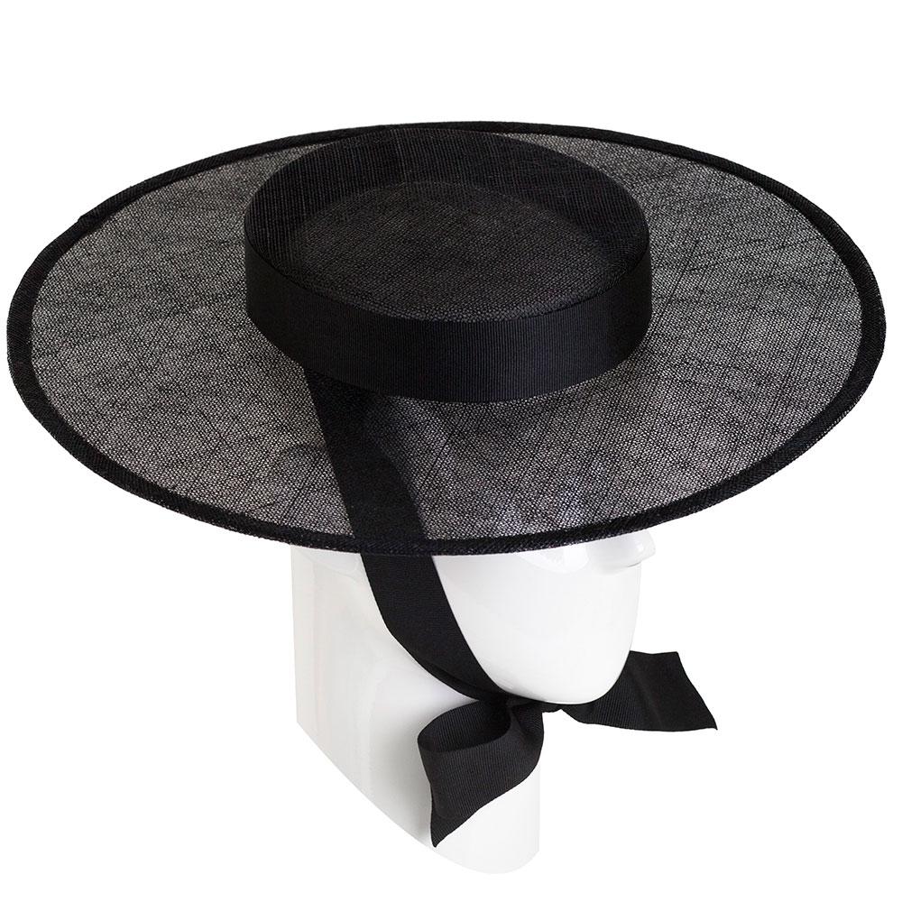 Шляпа женская Shapelie Скарлет с черной лентой
