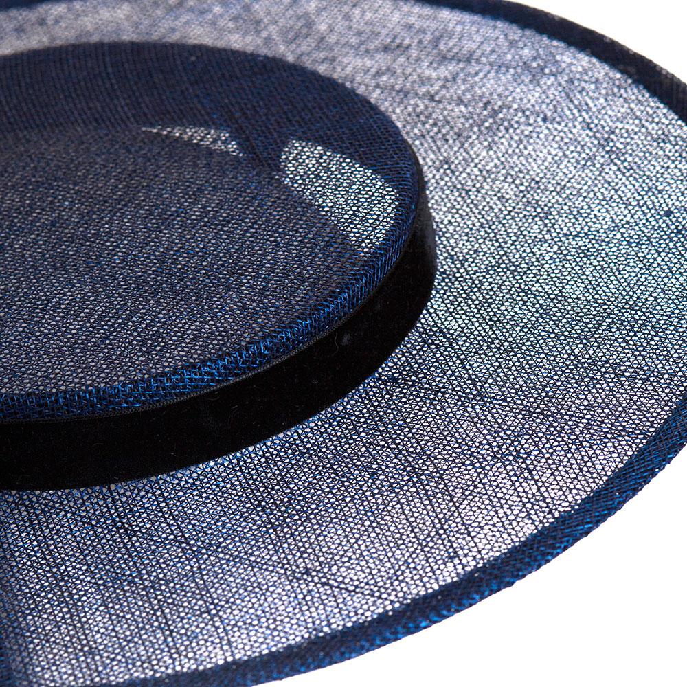 Темно-синяя шляпа Shapelie Джейн на завязках