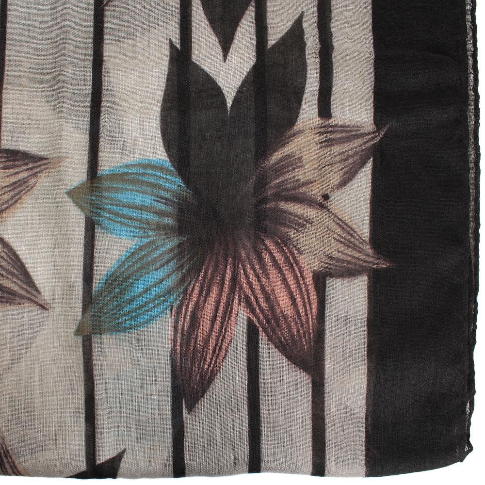 Шарф Tosca Blu Brownies с цветочным принтом