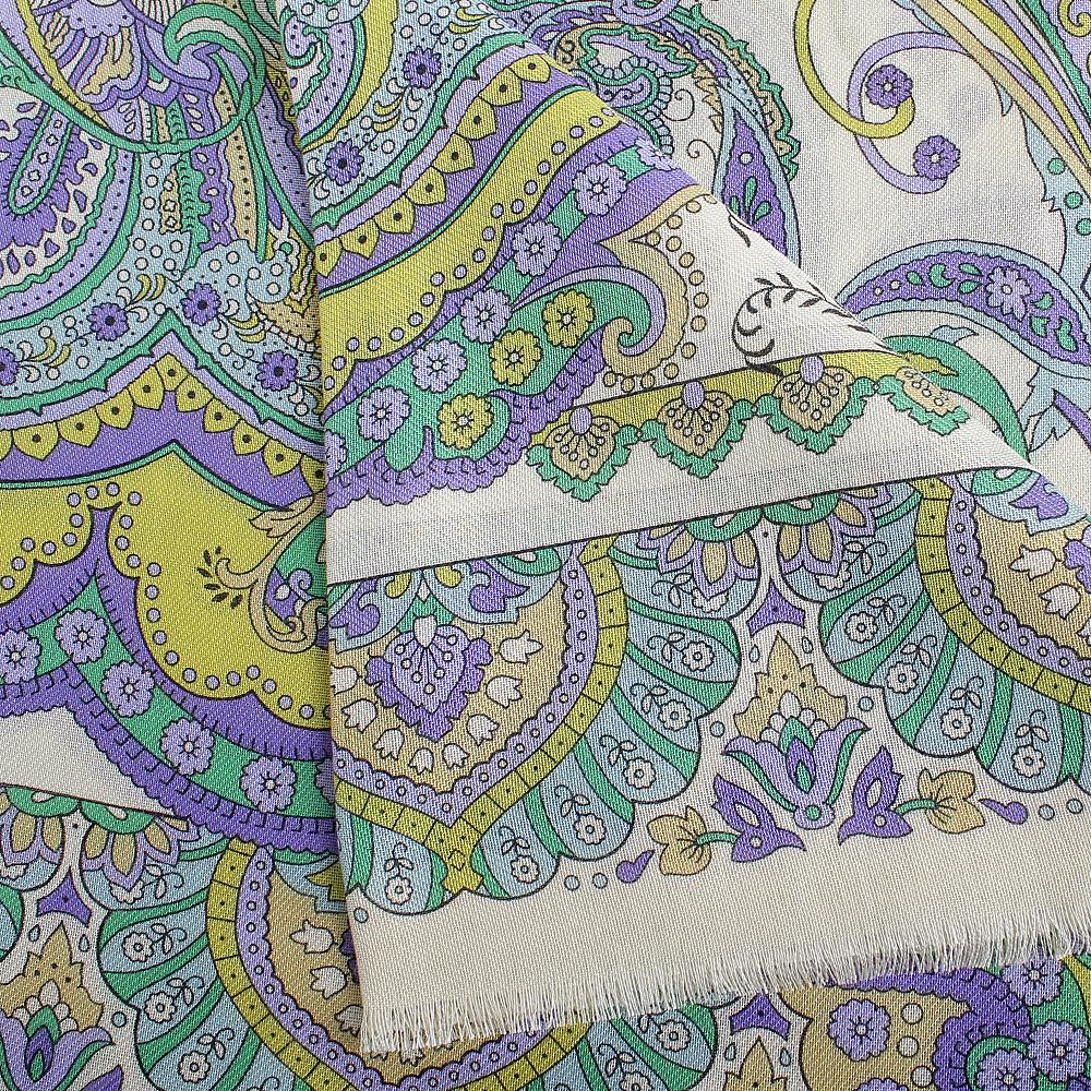 Сиреневый платок Fattorseta из вискозы