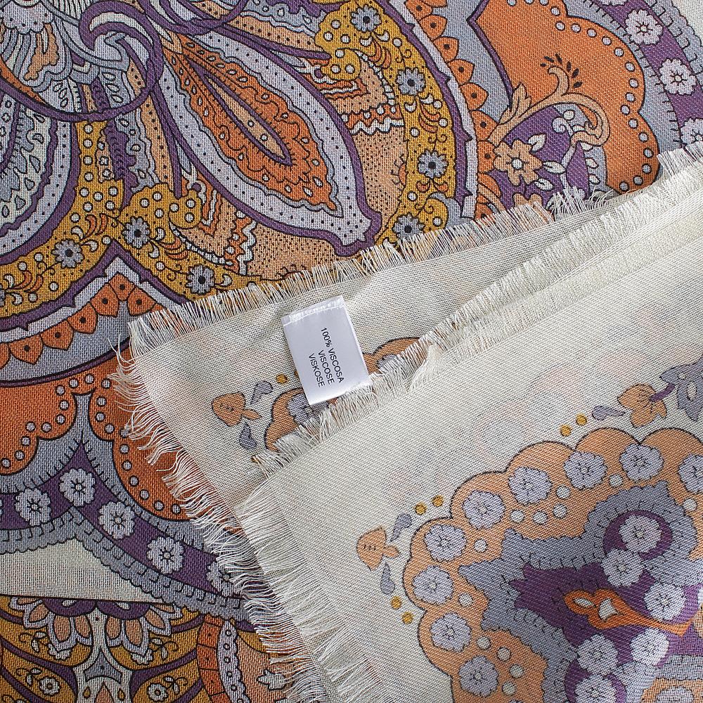 Терракотовый платок Fattorseta из вискозы