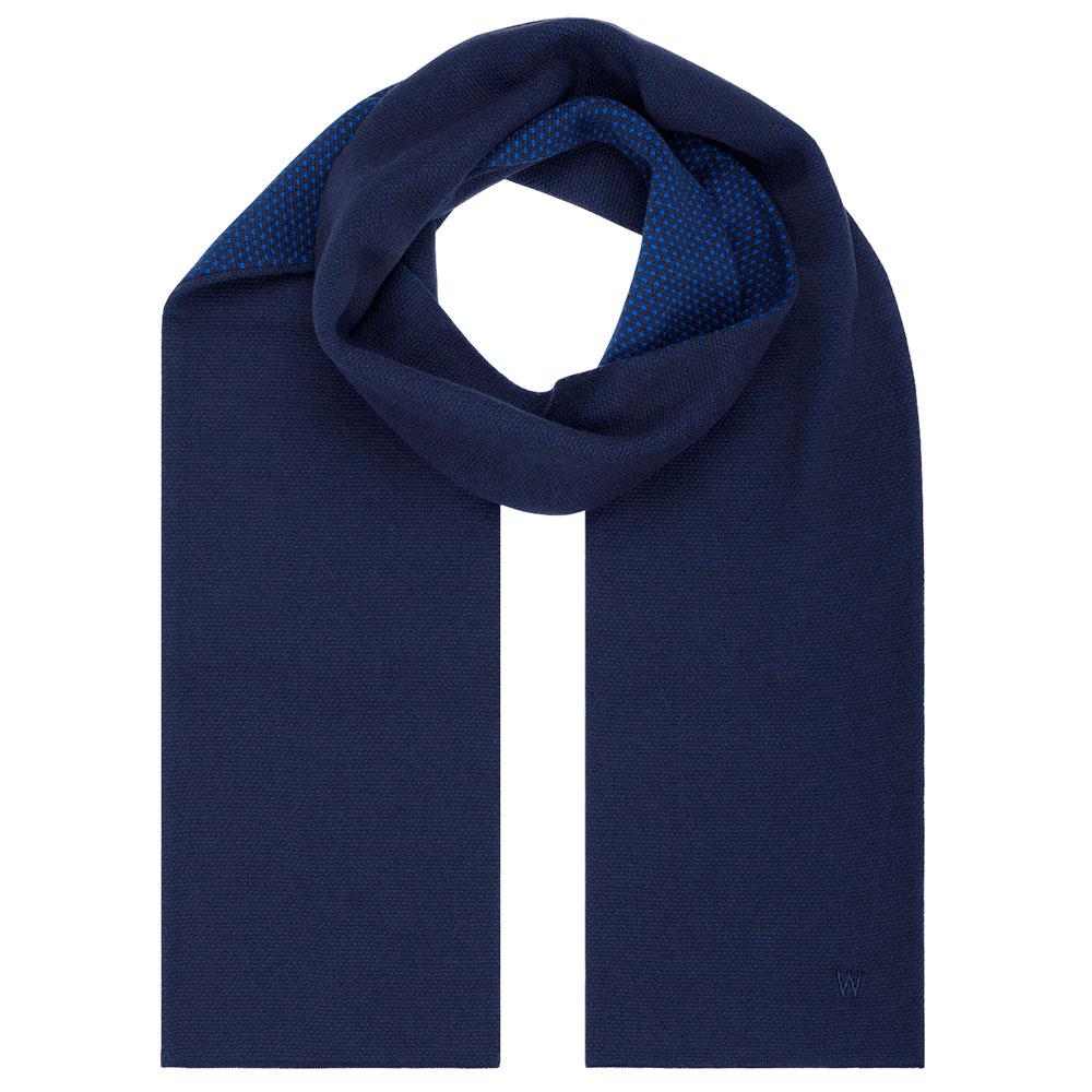 Шарф Woolkrafts Navy Blue темно-синий