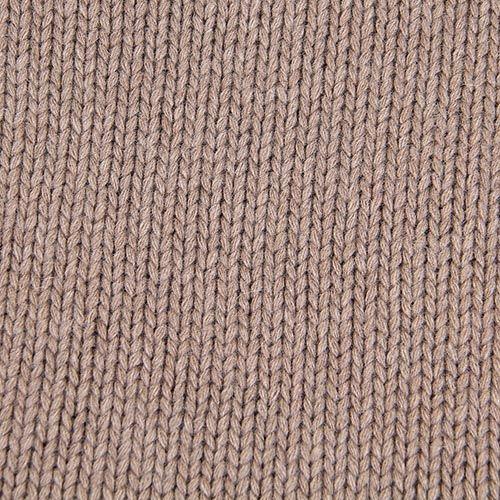 Шарф-хомут Le Camp Cashmere тонкий гладкая вязка коричневого цвета, фото