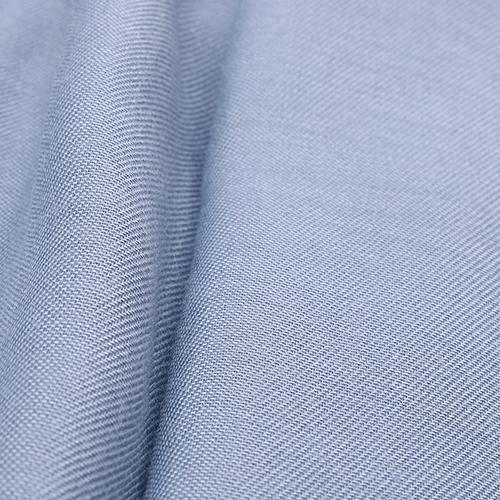 Однотонный палантин Fattorseta голубого цвета , фото