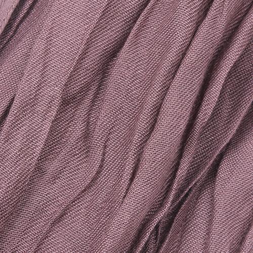 Коричневый палантин Fattorseta из жатой ткани, фото