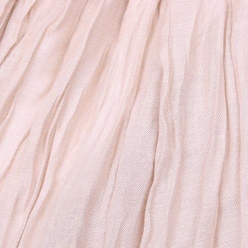 Однотонный палантин Fattorseta бежевого цвета, фото