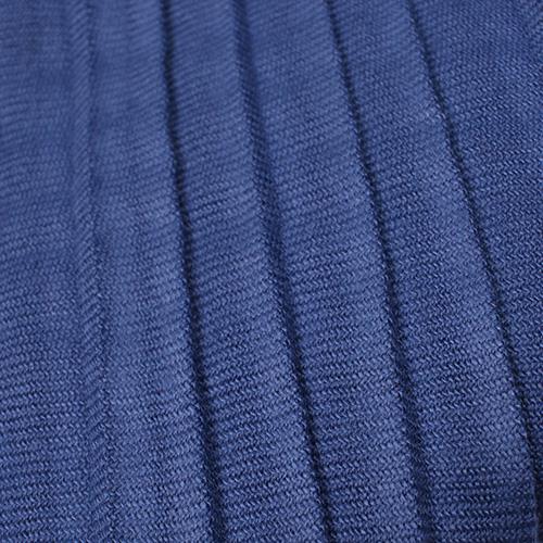 Длинный шарф-плиссе Fattorseta цвета синий джинс, фото