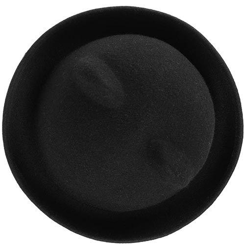 Шляпа с ушками черная, фото