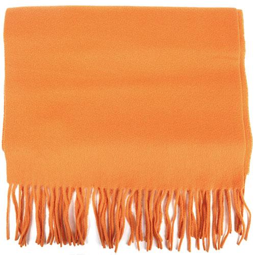 Оранжевый шарф Maalbi из натуральной шерсти, фото