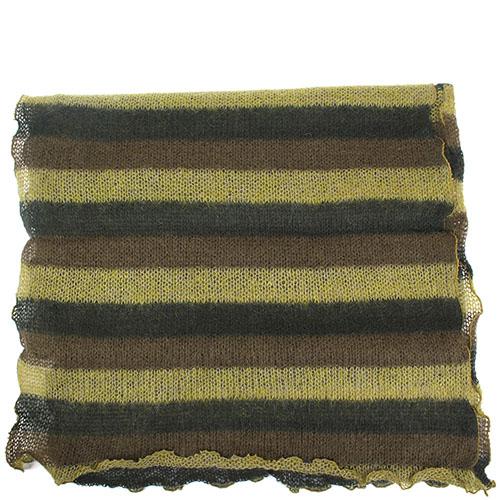 Шарф Fattorseta приглушенного зеленого цвета, фото