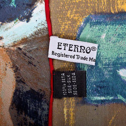 Шелковый платок Eterno с репродукцией Дега Урок танцев, фото