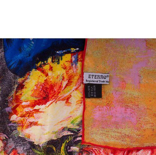 Платок Eterno SilkArt Букет в стиле импрессионизма, фото