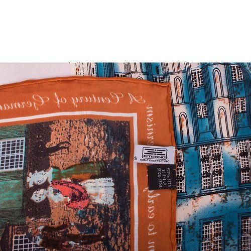 Платок Eterno SilkArt Городская башня, фото