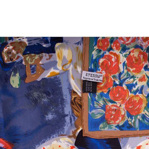 Платок Eterno SilkArt по мотивам картины Ренуара Деревенский танец, фото