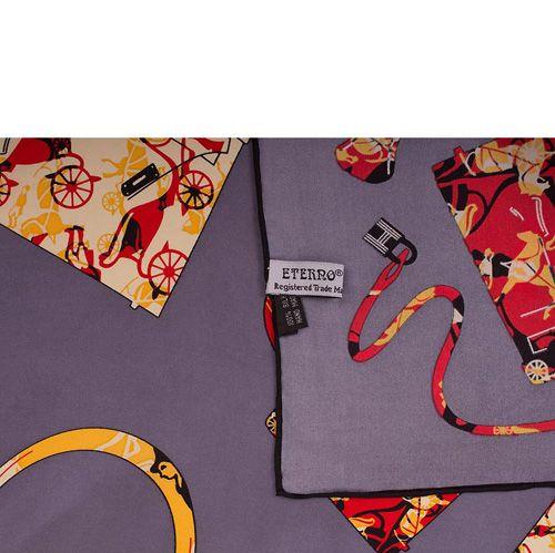 Шелковый платок Eterno Багаж, фото