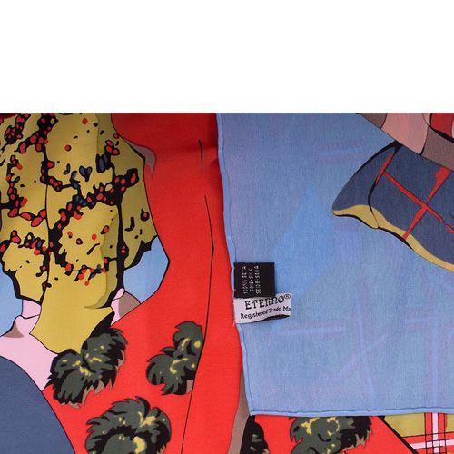 Платок Eterno SilkArt по мотивам работ Тулуза Лотрека, фото