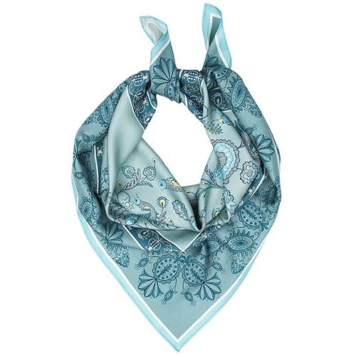 Большой шелковый платок D.OLYA by Olga Dvoryanskaya First Lady, фото