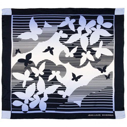 Платок Jean-Louis Scherrer «Papillons», фото