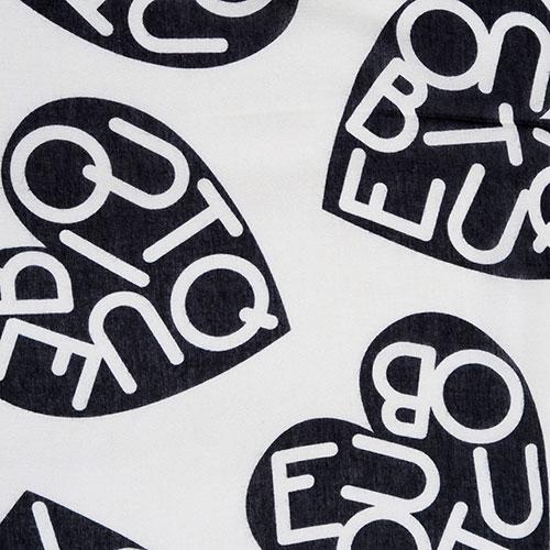 Палантин Boutique Moschino с лого, фото