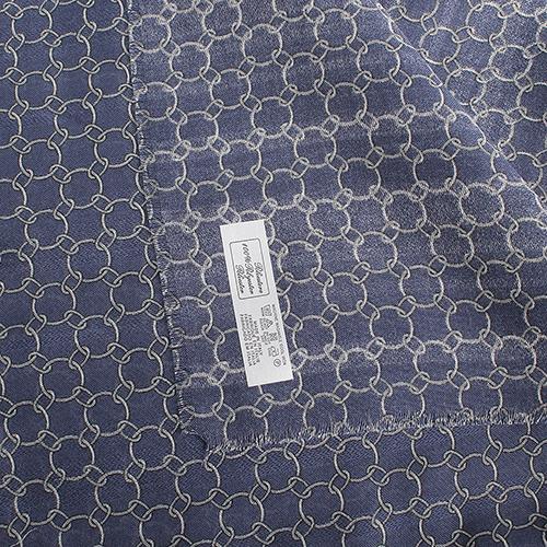 Женский палантин Fattorseta синего цвета, фото