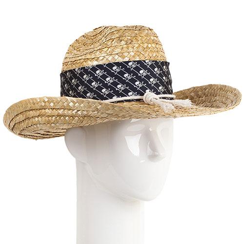 Плетеная шляпа Shapelie Джокер с лентой и шнурком, фото